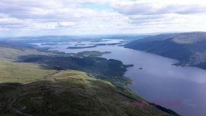 Rundreise - Blick auf Loch Lomond