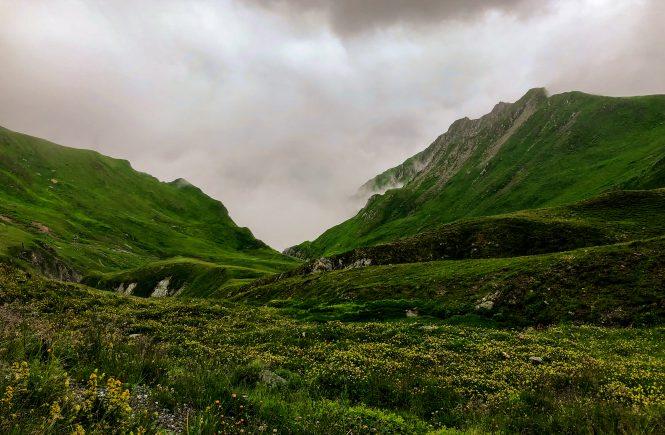 Berge in Samnaun
